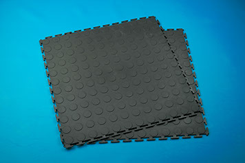 Rubber Garage Interlocking Floor Tiles